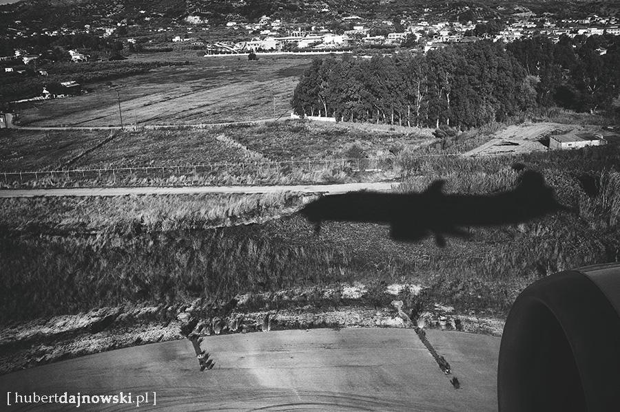 """Lądowanie w porcie lotniczym """"Dionysios Solomos"""" w Zakynthos"""